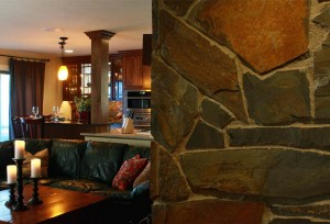Home-remodel-custom-slate-fireplace