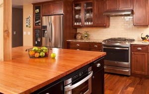 Kitchen remodel wood countertop - Arlington