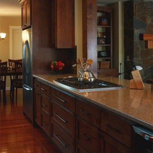 kitchen remodel contractor quartz countertop