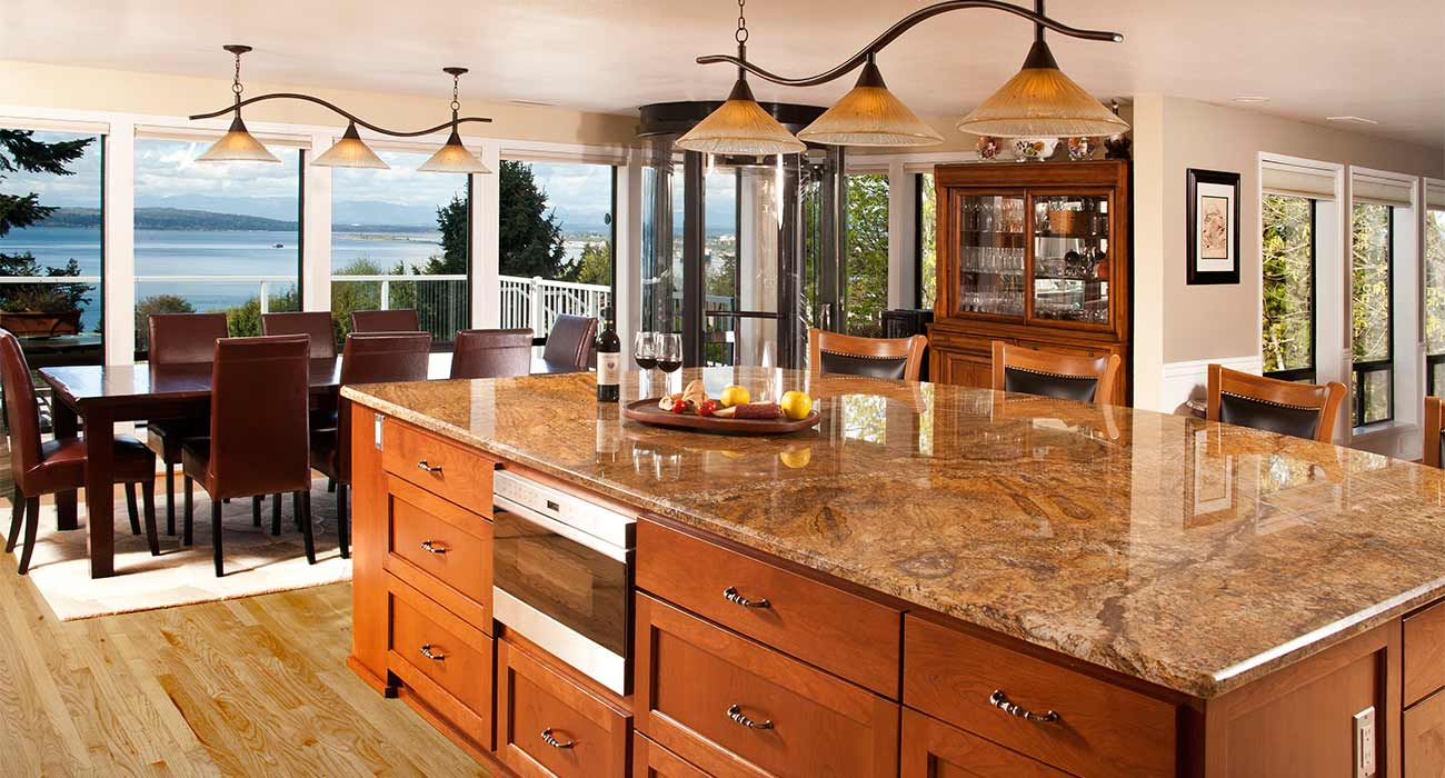 kitchen remodeling tips mike carter construction everett a deep apron front sink custom cabinetry with a spice drawer space for a pantry or a cabinet with lift shelf for your kitchen aid mixer