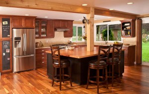 Kitchen remodel black cabinets - Arlington