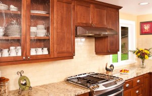 Kitchen remodel custom cabinets - Arlington
